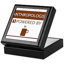 Anthropologist Powered by Coffee Keepsake Box