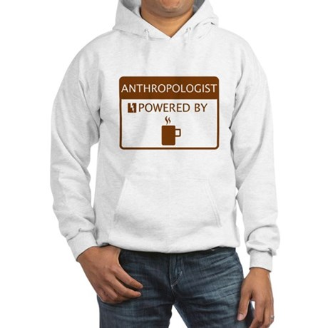 Anthropologist Powered by Coffee Hooded Sweatshirt