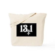 13.1 female runner Tote Bag