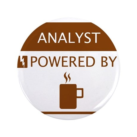"""Analyst Powered by Coffee 3.5"""" Button"""