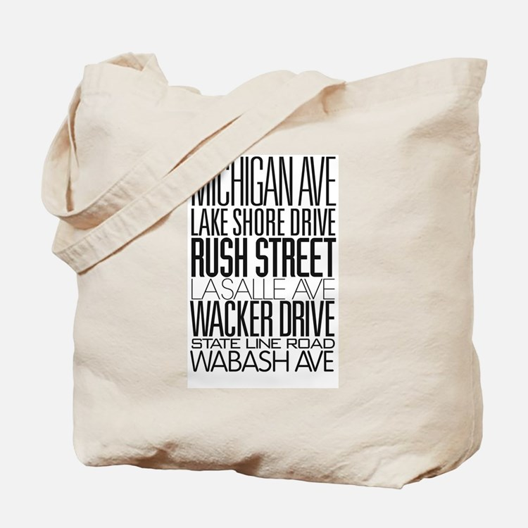 I Love ChiTown Tote Bag