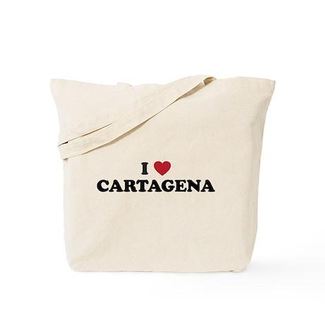 I Love Cartagena Tote Bag