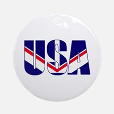 USA Proud Ornament (Round)