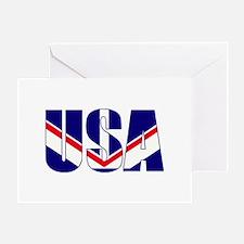USA Proud Greeting Card