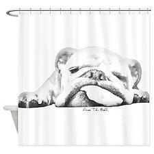 Sleepy Head Shower Curtain