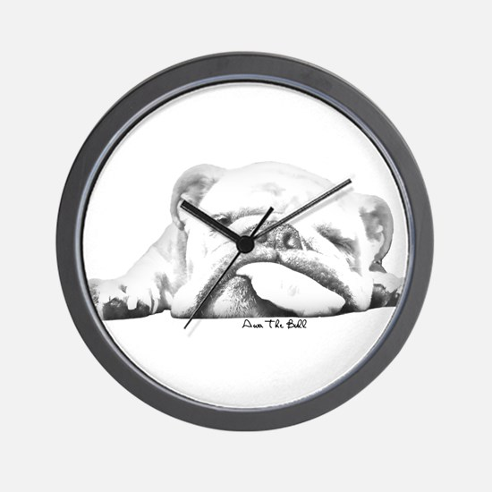 Sleepy Head Wall Clock