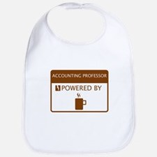 Accounting Professor Powered by Coffee Bib