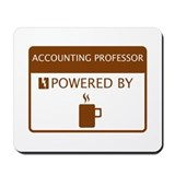 Accounting professor Mouse Pads