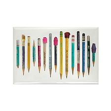 Old Favorite Pencils Rectangle Magnet (10 pack)