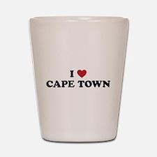I Love Cape Town Shot Glass