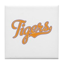 Go Tigers! South Carolina Palmetto Flag Tile Coast