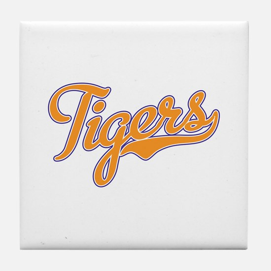 Go Tigers! South Carolina Palmetto Flag Tile Coast