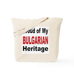 Proud Bulgarian Heritage Tote Bag