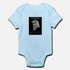 spartan helmet Infant Bodysuit