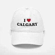 I Love Calgary Baseball Baseball Cap