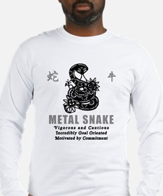 Year of The Metal Snake 1941 2001 Long Sleeve T-Sh