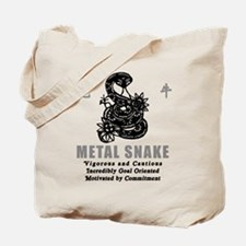 Year of The Metal Snake 1941 2001 Tote Bag