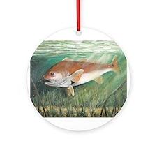 Redfish Ornament (Round)