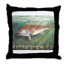 Redfish Throw Pillow