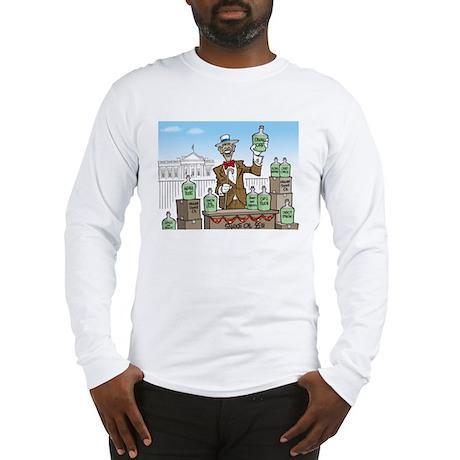 Anti Obama Snake Oil Salesman Long Sleeve T-Shirt
