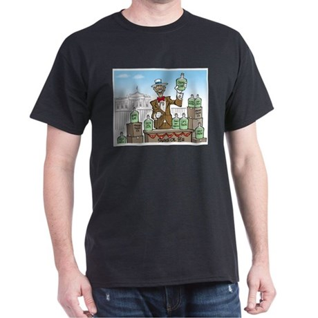 Anti Obama Snake Oil Salesman Dark T-Shirt