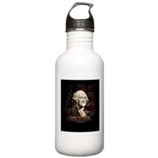 Portrait of George Washington Water Bottle