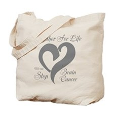 Stop Brain Cancer Tote Bag