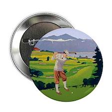 "Vintage Style golf Highlands Golfing Scene 2.25"" B"