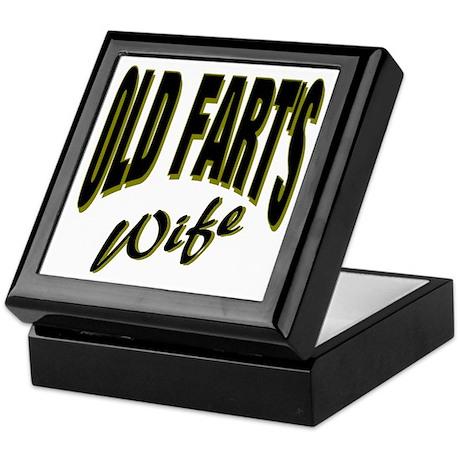Ols Fart's Wife Keepsake Box