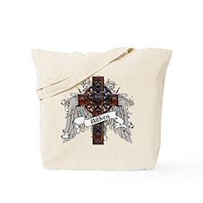 Aitken Tartan Cross Tote Bag