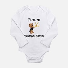 Cute Horn Long Sleeve Infant Bodysuit