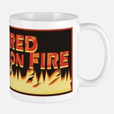 Retired But Still On Fire Small Small Mug