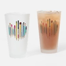 Old Favorite Pencils Drinking Glass