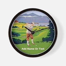 Personalized Golf Vintage Style Highlands Golfing