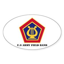 U.S Army Field Band with Text Decal