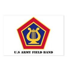 U.S Army Field Band with Text Postcards (Package o