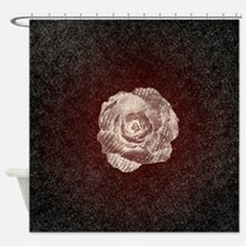 Shadow Blooms Shower Curtain