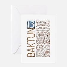 Baktun 13 - Mayan Calendar Gl Greeting Card