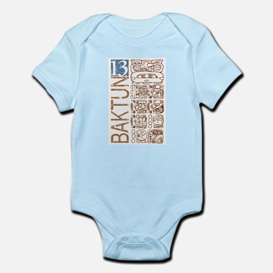 Baktun 13 - Mayan Calendar Glyphs Infant Bodysuit