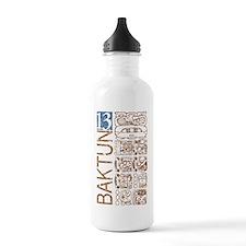 Baktun 13 - Mayan Calendar Glyphs Water Bottle