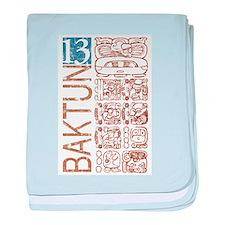 Baktun 13 - Mayan Calendar Glyphs Infant Blanket