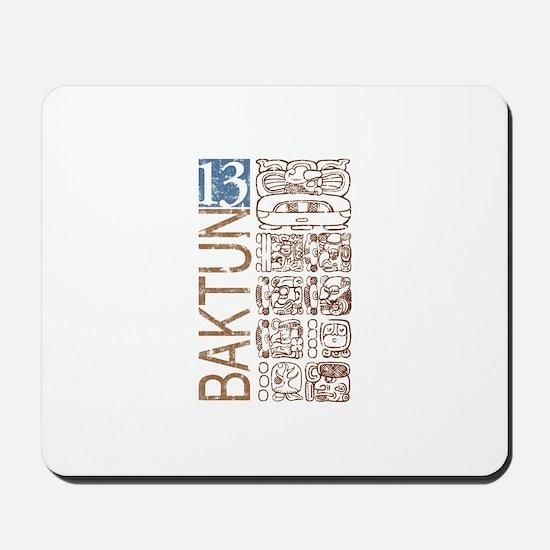 Baktun 13 - Mayan Calendar Gl Mousepad