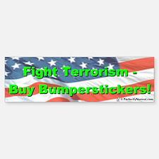 Fight Terrorism bumpersticker