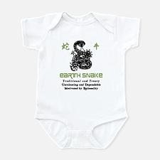 Year of The Earth Snake 1929 1989 Infant Bodysuit