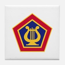 U.S Army Field Band Tile Coaster