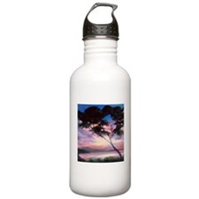 tranquility bay Sports Water Bottle