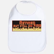 Retired But Still On Fire Bib