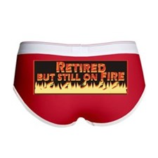 Retired But Still On Fire Women's Boy Brief