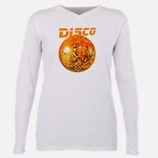 Orange Disco Ball Ash Grey T-Shirt