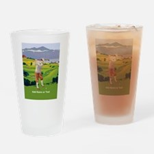 Personalized Golf Highlands Golfing Scene Drinking